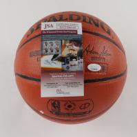 Glen Rice Signed NBA Game Ball Series Basketball (JSA COA) at PristineAuction.com