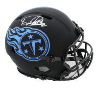 Derrick Henry Signed Titans Full-Size Authentic On-Field Eclipse Alternate Speed Helmet (Beckett COA) at PristineAuction.com
