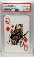 Nancy Kerrigan Signed Trading Card (PSA Encapsulated) at PristineAuction.com