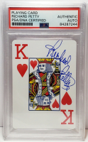 Richard Petty Signed Trading Card (PSA Encapsulated) at PristineAuction.com