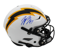 Joey Bosa Signed Chargers Full-Size Authentic On-Field Lunar Eclipse Alternate SpeedFlex Helmet (Radtke COA) at PristineAuction.com
