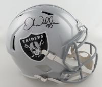 Darren Waller Signed Raiders Full-Size Speed Helmet (Beckett COA) at PristineAuction.com