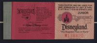 "Disneyland Fantasyland's ""Dumbo"" 15x26 Custom Framed Print Display with Vintage Ride Ticket & Vintage Photo Portfolio (See Description) at PristineAuction.com"