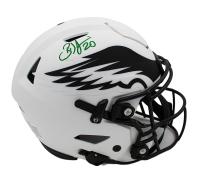 Brian Dawkins Signed Eagles Full-Size Authetnic On-Field Lunar Eclipse Alternate SpeedFlex Helmet (Radtke COA) at PristineAuction.com