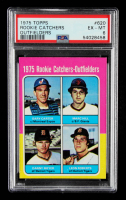 Gary Carter / Marc Hill / Danny Meyer / Leon Roberts 1975 Topps #620 Rookie Catchers and Outfielders RC (PSA 6) at PristineAuction.com