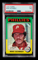 Mike Schmidt 1975 Topps #70 (PSA 7) at PristineAuction.com