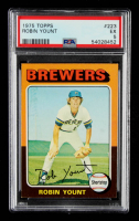 Robin Yount 1975 Topps #223 RC (PSA 5) at PristineAuction.com