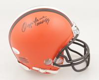 "Ozzie Newsome Signed Browns Mini Helmet Inscribed ""HOF 99"" (JSA COA) at PristineAuction.com"