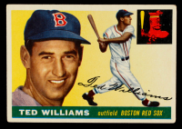 Ted Williams 1955 Topps #2 at PristineAuction.com