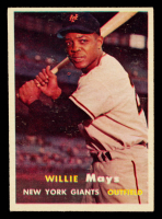 Willie Mays 1957 Topps #10 at PristineAuction.com