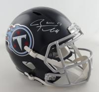 Ryan Tannehill Signed Titans Full-Size Speed Helmet (Beckett COA) (See Description) at PristineAuction.com