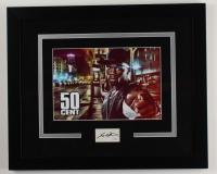 50 Cent Signed 18.25x22.25 Custom Framed Cut Display (AutographCOA COA) (See Description) at PristineAuction.com