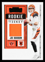 Joe Burrow  2020 Panini Contenders Rookie Ticket Swatches #1 at PristineAuction.com