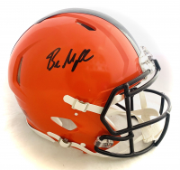 Baker Mayfield Signed Browns Full-Size Authentic On-Field Speed Helmet (Beckett Hologram) at PristineAuction.com