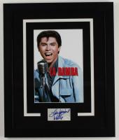 "Lou Diamond Phillips Signed ""La Bamba"" 18.25x22.25 Custom Framed Cut Display (AutographCOA COA) (See Description) at PristineAuction.com"