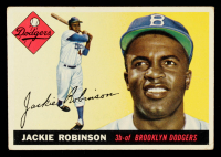 Jackie Robinson 1955 Topps #50 at PristineAuction.com