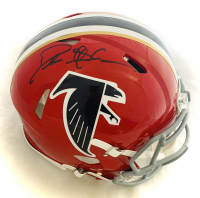 Deion Sanders Signed Falcons Full-Size Authentic On-Field Throwback Helmet (Beckett Hologram) at PristineAuction.com