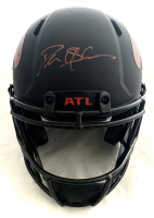 Deion Sanders Signed Falcons Full-Size Authentic On-Field Eclipse Alternate Speed Helmet (Beckett Hologram) at PristineAuction.com