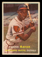 Hank Aaron 1957 Topps #20 at PristineAuction.com