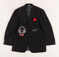 """Tobin Bell Signed """"Saw"""" Blazer Inscribed """"Jigsaw"""" (JSA Hologram) (See Description) at PristineAuction.com"""