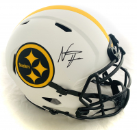 Najee Harris Signed Steelers Full-Size Authentic On-Field Lunar Eclipse Alternate Helmet (Fanatics Hologram) at PristineAuction.com