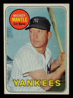 Mickey Mantle 1969 Topps #500A at PristineAuction.com