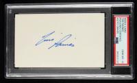 Tim Raines Signed 3x5 Index Card (PSA Encapsulated) at PristineAuction.com