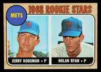 Jerry Koosman RC / Nolan Ryan RC 1968 Topps #177 Rookie Stars at PristineAuction.com
