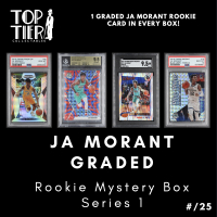 TTC Ja Morant GRADED All Rookie Mystery Card Box Series 1 (Limited to 25) at PristineAuction.com