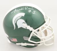 Andre Rison Signed Michigan State Spartans Mini Helmet (JSA COA) at PristineAuction.com