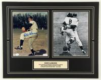 Don Larsen Signed Yankees 16x20 Custom Matted Photo Display (SOP COA & JSA SOA) at PristineAuction.com
