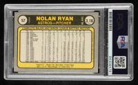 Nolan Ryan Signed 1981 Fleer #57 (PSA Encapsulated) at PristineAuction.com