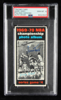 Jerry West Signed 1970-71 Topps #171 Playoff G4 (PSA 10) at PristineAuction.com
