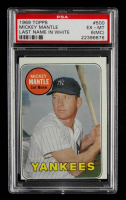 Mickey Mantle 1969 Topps #500 (PSA 6) (MC) at PristineAuction.com