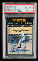 """Nolan Ryan Signed 1971 O-Pee-Chee #513 Inscribed """"The Ryan Express"""" (PSA Encapsulated) at PristineAuction.com"""