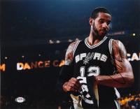LaMarcus Aldridge Signed Spurs 11x14 Photo (PSA Hologram) at PristineAuction.com
