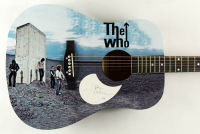 Pete Townshend Signed The Who Acoustic Guitar (JSA COA) at PristineAuction.com