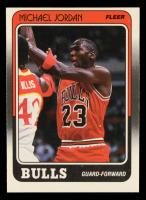 Michael Jordan 1988-89 Fleer #17 at PristineAuction.com