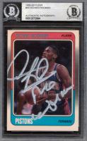 "Dennis Rodman Signed 1988-89 Fleer #43 RC Inscribed ""Worm"" (BGS Encapsulated) at PristineAuction.com"