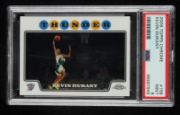 Kevin Durant 2008-09 Topps Chrome #156 (PSA 9) at PristineAuction.com