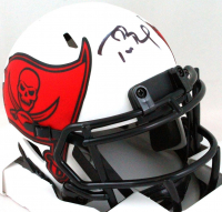 Tom Brady Signed Buccaneers Lunar Eclipse Alternate Speed Mini Helmet (Fanatics Hologram) at PristineAuction.com