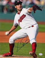Trevor Bauer Signed Indians 11x14 Photo (PSA Hologram) at PristineAuction.com