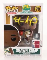 Shawn Kemp Signed SuperSonics #79 Funko Pop! Vinyl Figure (PSA COA) at PristineAuction.com