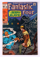 """1969 """"Fantastic Four"""" Issue #90 Marvel Comic Book at PristineAuction.com"""