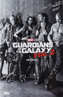 """Dave Bautista Signed """"Guardians of the Galaxy Vol.2"""" 11x17 Photo Inscribed """"Drax"""" (JSA COA) at PristineAuction.com"""