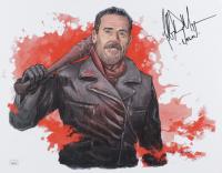 "Jeffrey Dean Morgan Signed ""The Walking Dead"" 11x14 Photo Inscribed ""Negan"" (JSA COA) at PristineAuction.com"