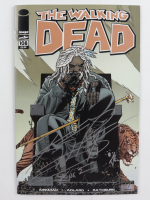"""Khary Payton Signed 2013 """"The Walking Dead"""" #108 Image Firsts Comic Book Inscribed """"King E."""" (JSA Hologram) at PristineAuction.com"""