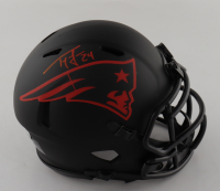 Ty Law Signed Patriots Eclipse Alternate Speed Mini-Helmet (Beckett Hologram) at PristineAuction.com