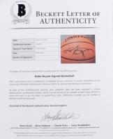 Kobe Bryant Signed 2001 NBA Finals Basketball (Beckett LOA & PSA Hologram) (See Description) at PristineAuction.com