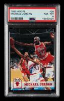 Michael Jordan 1993-94 Hoops #28 (PSA 8) at PristineAuction.com